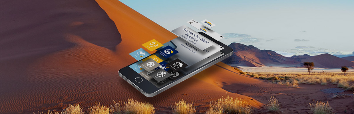 The Santam app: Made for Namibia